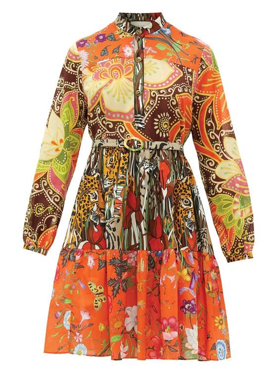 Váy hoa cao cấp mùa hè ảnh 3