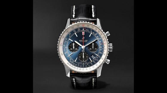 Đồng hồ mặt số màu xanh ảnh 6