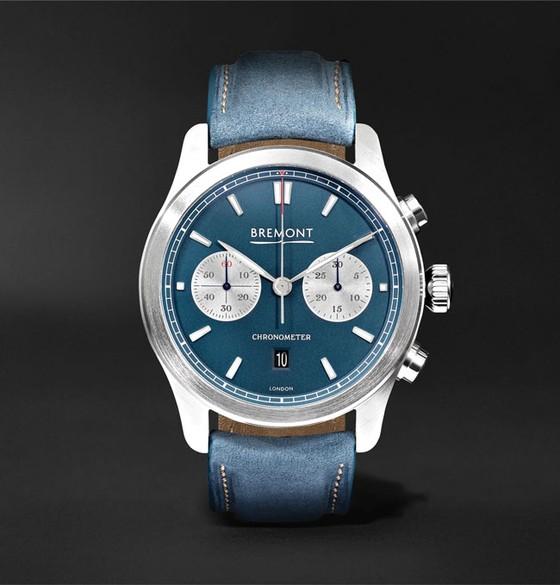 Đồng hồ mặt số màu xanh ảnh 5