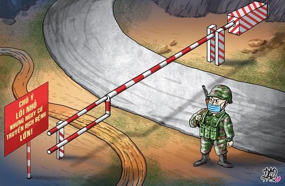 Truy vết covid-19 và chốt chặn nơi biên giới ảnh 1