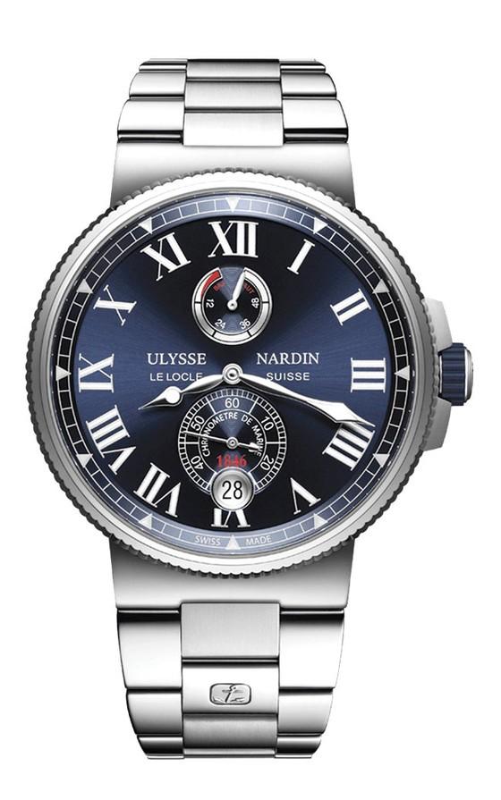 Đồng hồ mặt số màu xanh ảnh 4