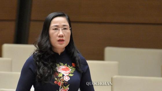 Đại biểu Quốc hội Nguyễn Thị Thủy, đoàn Bắc Kạn. (Ảnh: quochoi.vn)