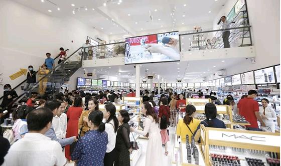 """AB Beauty World mở """"đại"""" siêu thị mỹ phẩm ảnh 1"""