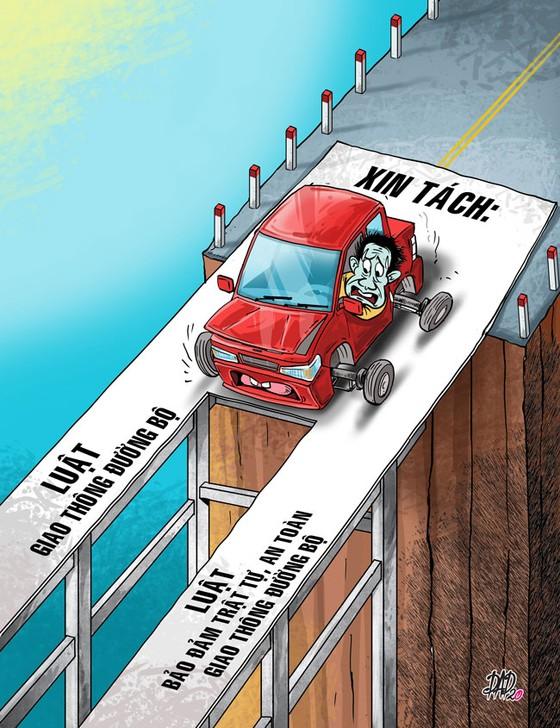 Nâng cấp ngành giao thông thay vì chia nhỏ luật ảnh 1
