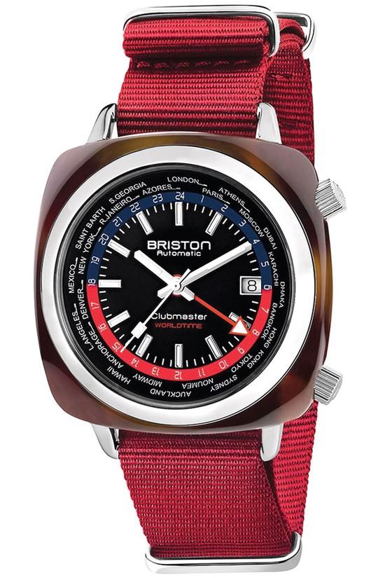 Đồng hồ sắc đỏ ảnh 1