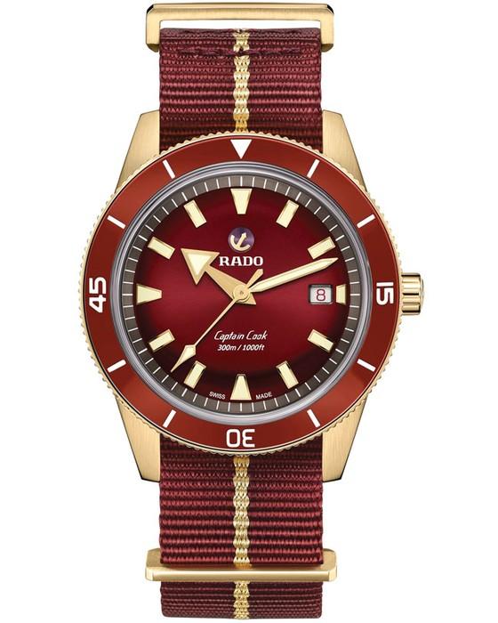 Đồng hồ sắc đỏ ảnh 3