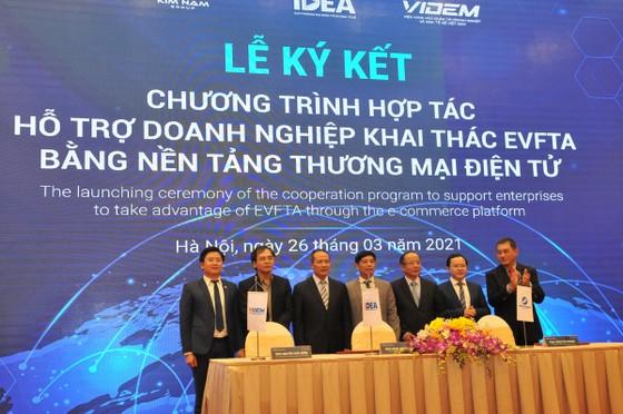 Lễ ra mắtSàn TMĐTdoanh nghiệp Việt Nam-EU (VEFTA).