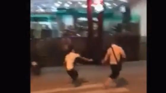 Du khách Trung Quốc cầm dao xô xát với nhân viên nhà hàng tại Nha Trang ảnh 3