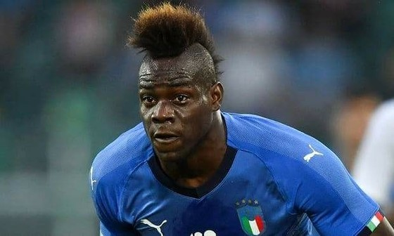 Mario Balotelli trở lại với tuyển Italia.