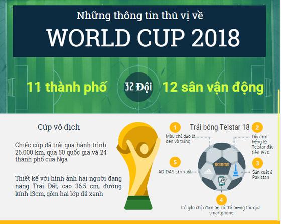 World Cup 2018 - những điiều có thể bạn chưa biết ảnh 1