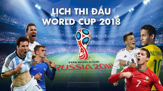 TRƯỚC GIỜ BÓNG LĂN: LỊCH WORLD CUP NGÀY 17 và 18-6