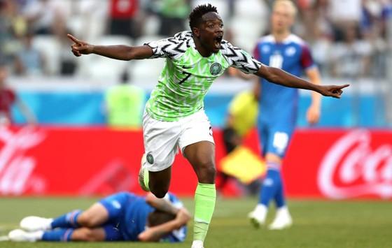 Ahmed Musa tỏa sáng vơi 2 bàn thắng ở hiệp 2.