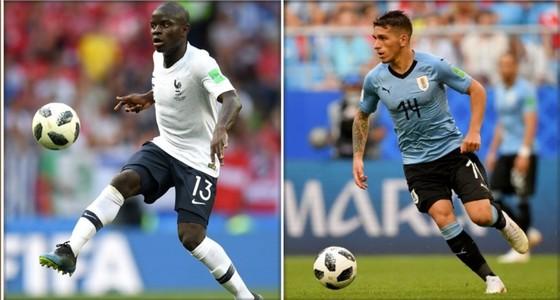 Lucas Torreira (phải) - đối thủ đáng gờm của Kante