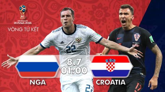 Nga - Croatia 2-2 (3-4 pen): Croatia xuất sắc vào bán kết
