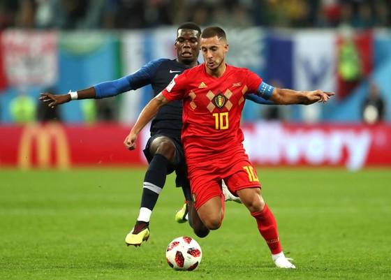 Eden Hazard chơi rất hay trong trận gập Pháp.