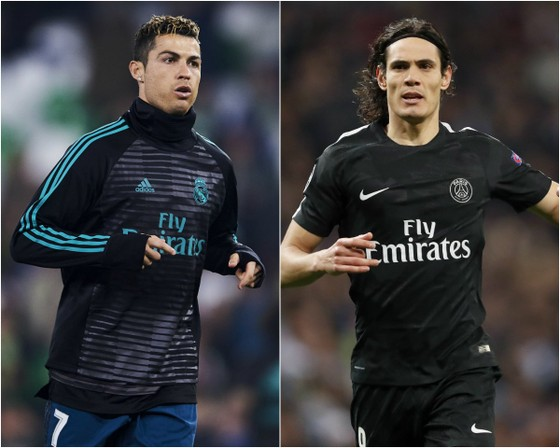 Ronaldo và Cavani