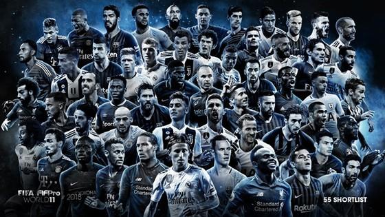 Messi, Ronaldo và Buffon dẫn đầu danh sách 55 ngôi sao cạnh tranh FIFPro World11