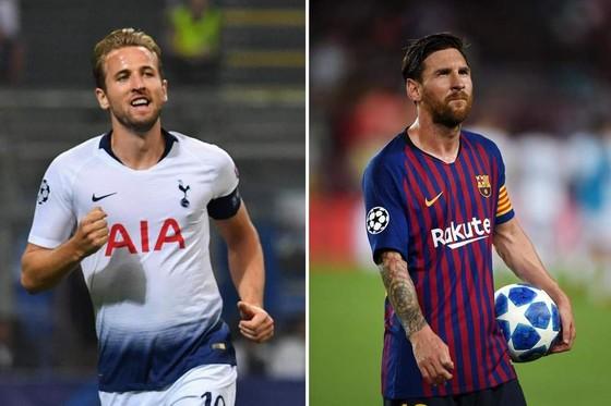 Harry Kane và Lionel Messi