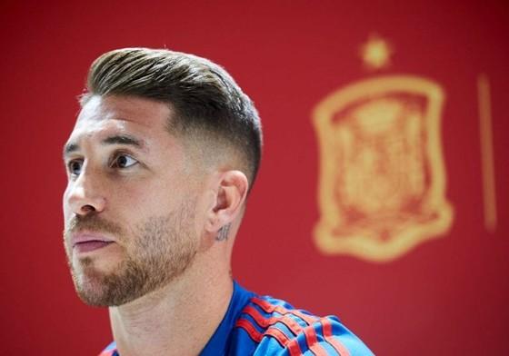Thủ quân tuyển tây Ban Nha Sergio Ramos