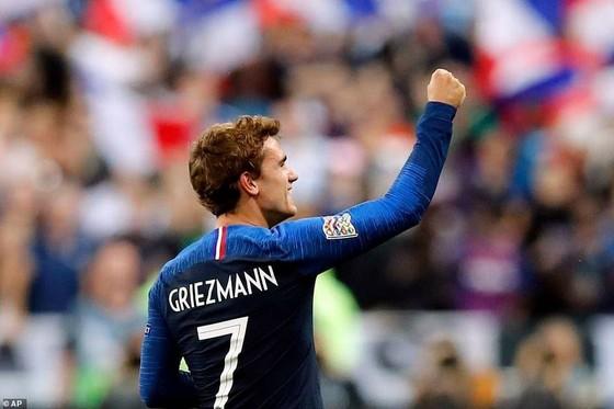 Antoine Griezmann liên tục ghi bàn cho tuyển Pháp.