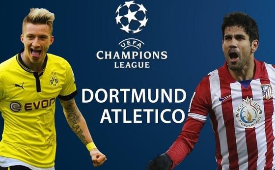 Dortmund – Atletico Madrid: Bất phân thắng bại (Mới cập nhật)