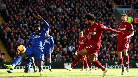 TRỰC TIẾP: Liverpool - Cardiff City: côn mưa bàn trhắng ở Anfield ảnh 1
