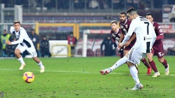 Ronaldo suýt đá hỏng quả 11m