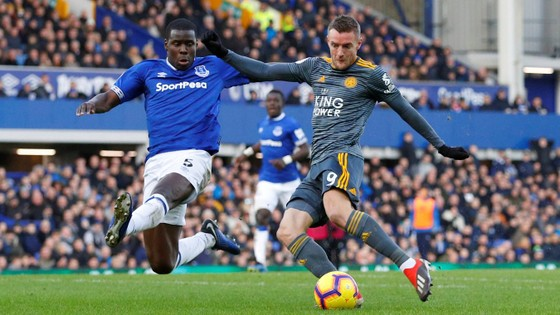 Jamie Vardy giúp Bầy cáo nhấn chìm Everton  ảnh 5
