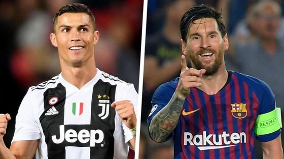 Cristiano Ronaldo và Lionel Messi