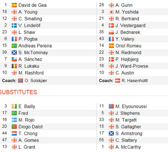 TRỰC TIẾP: Man United -  Southampton: Cơn mưa bàn thắng ảnh 2