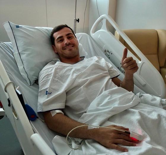 Iker Casillas nói gì sau khi đối mặt tử thần