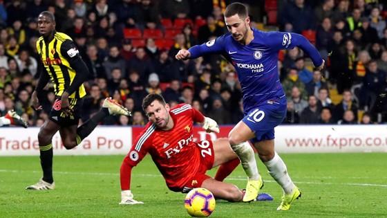 Eden Hazard sẽ làm công việc ưa thích trước Watford.