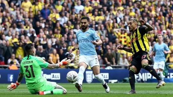Man City - Watford: 6-0: Hattrick của Sterling, cú ăn ba củas Pep ảnh 2