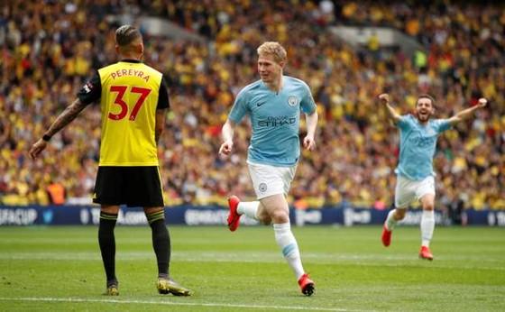 Man City - Watford: 6-0: Hattrick của Sterling, cú ăn ba củas Pep ảnh 5