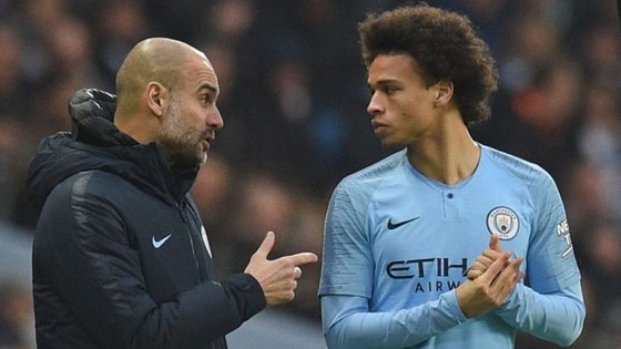 Guardiola muốn Leroy Sane rời Man City