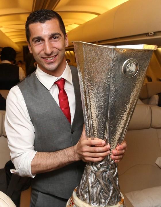 Arsenal mất Mkhitaryan trong trận chung kết Europa League ở Baku ảnh 1