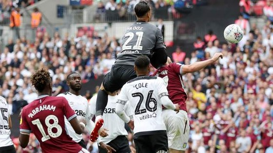 TRỰC TIẾP: Aston Villa - Derby County: Quyết chiến ở Wembley ảnh 6