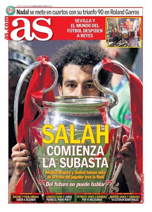 Sốc: Real Madrid và Man United đặt giá 200 triệu Euro cho Mohamed Salah ảnh 1