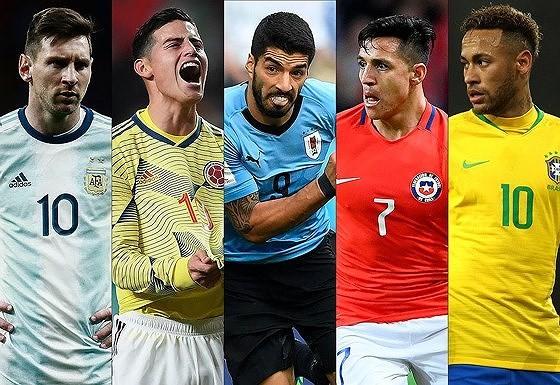 Lịch thi đấu bóng đá Copa America, vòng tứ kết: Brazil và Argentina ung dung qua ải (Mới cập nhật)
