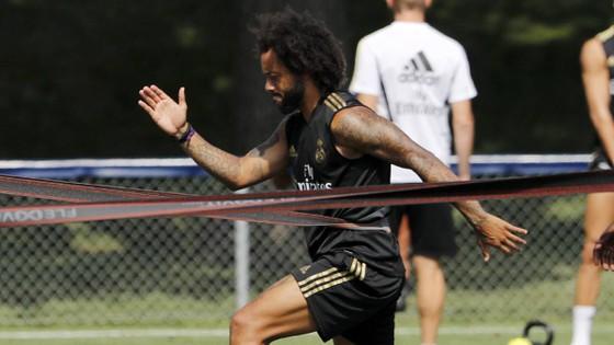 Marcelo vẫn ráo riết tập luyện như một chàng trai trẻ.