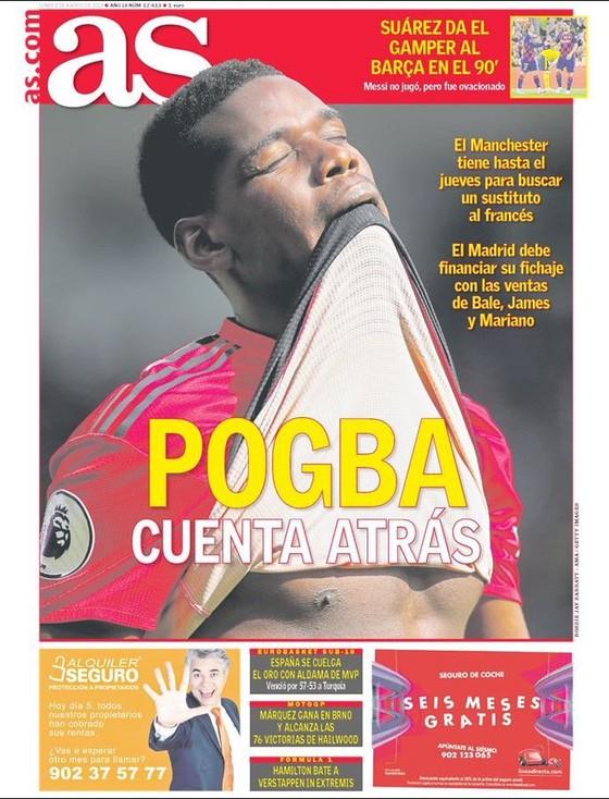 Man.United và Pogba, ai phải chạy đua với thời gian? ảnh 1