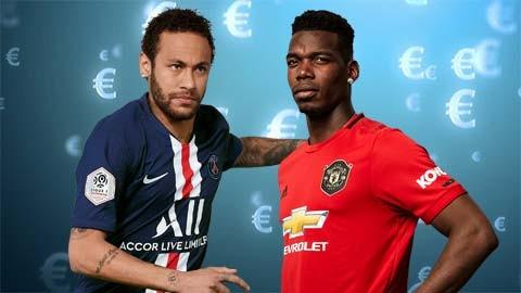 Neymar và Pogba