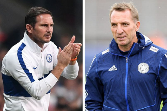 Frank Lampard và Brendan Rodgers