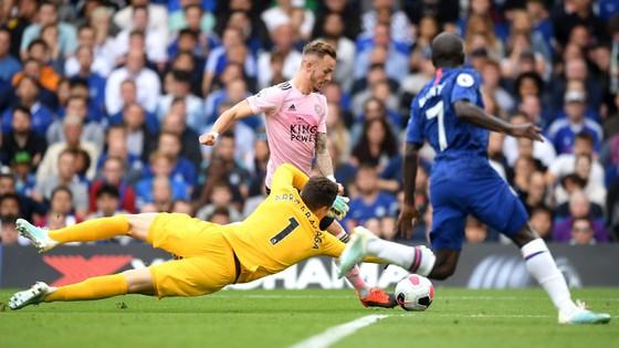 Chelsea - Leicester City 1-1, Mount mở tài khoản, Lampard có điểm đầu tiên ảnh 10