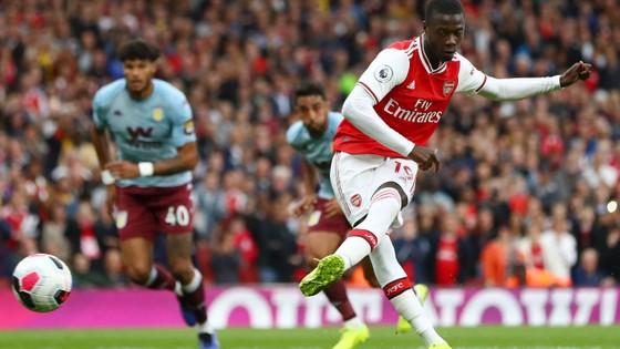 Arsenal - Aston Villa 3-2: Pepe, Callum, Aubameyang xuất sắc lội ngược dòng ảnh 6