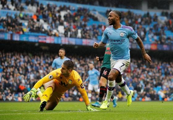 Man City - Aston Villa 3-0: Sterling, De Bruyne và Gundogan ghi tuyệt phẩm ảnh 9