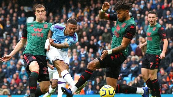 Man City - Aston Villa 3-0: Sterling, De Bruyne và Gundogan ghi tuyệt phẩm ảnh 3
