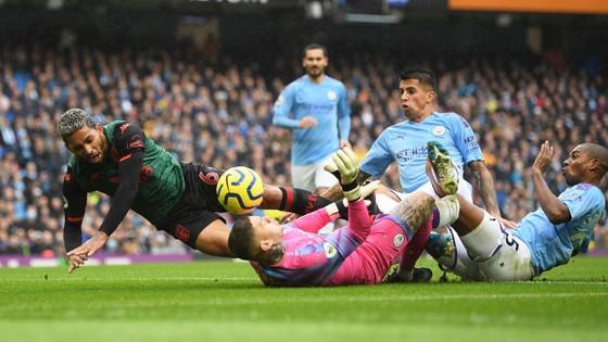 Man City - Aston Villa 3-0: Sterling, De Bruyne và Gundogan ghi tuyệt phẩm ảnh 5