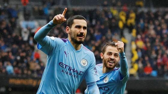 Man City - Aston Villa 3-0: Sterling, De Bruyne và Gundogan ghi tuyệt phẩm ảnh 13