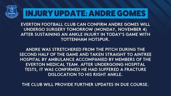 Andre Gomes sẽ phẫu thuật cổ chân bị gãy ảnh 1